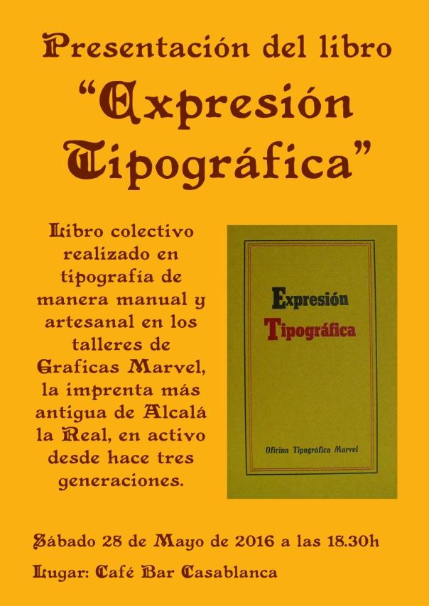 Presentación Expresión Tipográfica